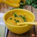 Crema di peperoni allo zenzero e curcuma