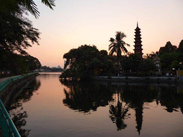 Buddhist Temple near West Lake