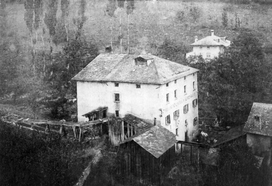 La Maison Staub, les anciens moulins de Saillon