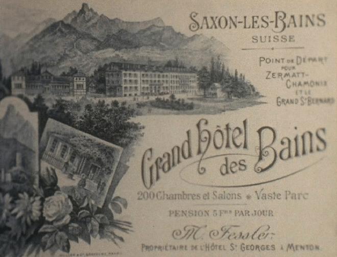 Saxon-Les-Bains, Grand Hôtel des Bains