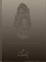 """Libro Alejandrino"" (Buenos Aires, 2004). Edición limitada, con 14 imágenes inspiradas en 14 antiguos textos árabes. Colección privada."