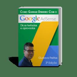 E-book Ganhar dinheiro com o Google Adsense - 3ª Edição