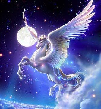 Pegasus, the winged horse