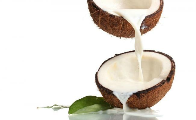Coconut fruit and its water