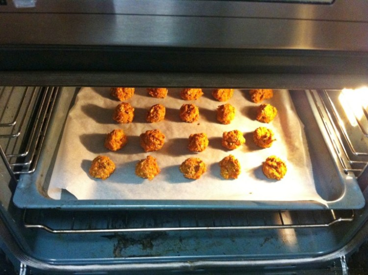 Small carrot balls - - Recipes for horses