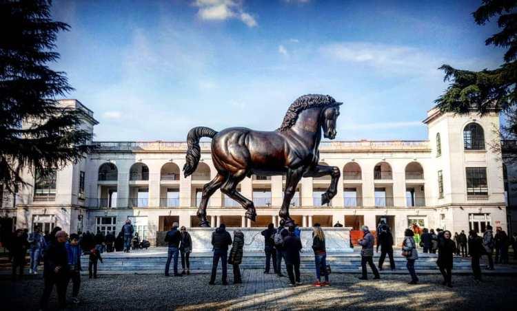 Sforza Leonardo'ss Horse - Equestrian Sculptures