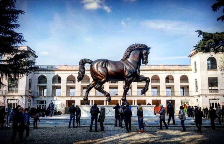 Sforza Leonardo'ss Horse