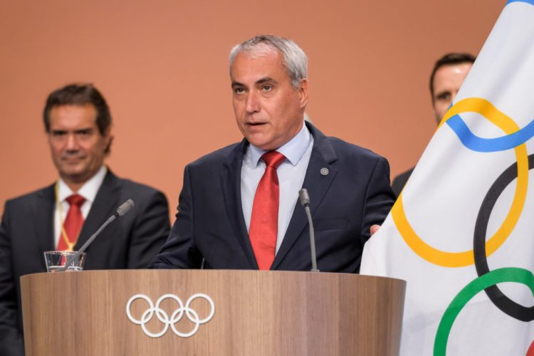 Ingmar De Vos became a member of the International Olympic Committee last year