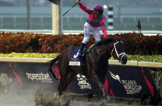 Venezuelan jockey Javier Castellanos tested positive for Coronavirus
