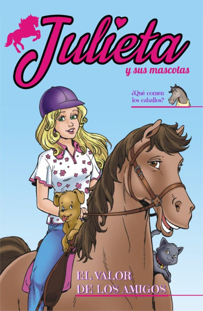 Juliet and her pets - Cover #2 Issue