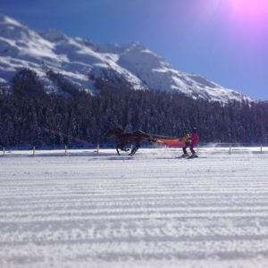The White Turf - St. Moritz Horse Race