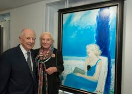 André Brasilier and his wife