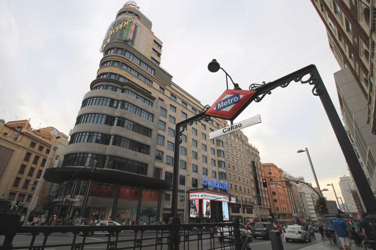 Metro de Madrid - Estación Callao