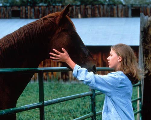 """Scarlett Johansson en """"El hombre que susurraba a los caballos"""""""