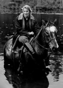 Richard Gere on horseback