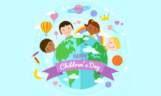 Congratulations for World Children's Day