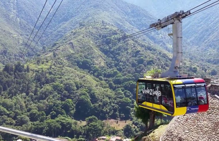 In Mérida you will find the highest cable car in the world