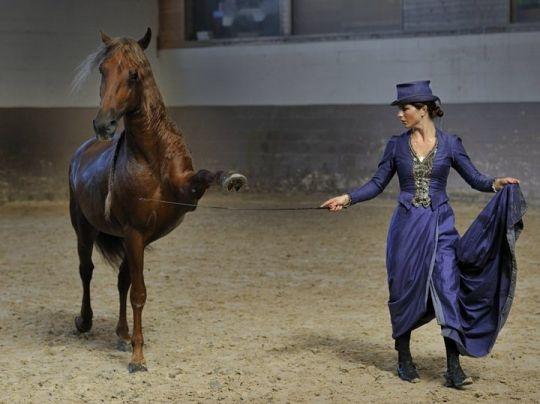 Clémence Faivre in Madrid Horse Week