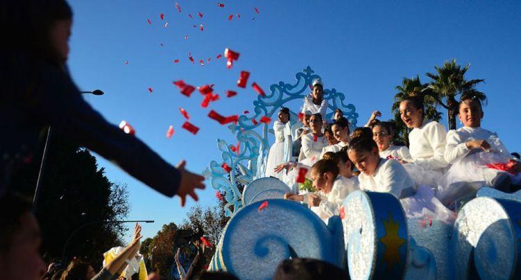 Celebración del día de Reyes en España