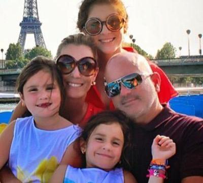 Husband of Carolina Chapellin and family