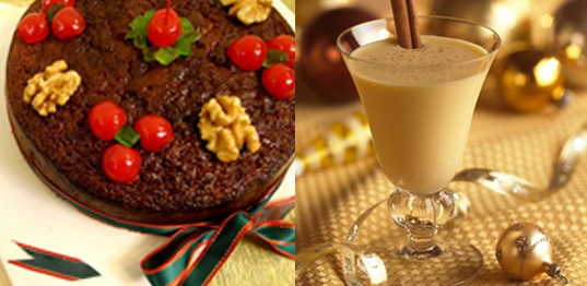 Venezuelan Christmas cake and Cream Punch - Venezuelan Traditions