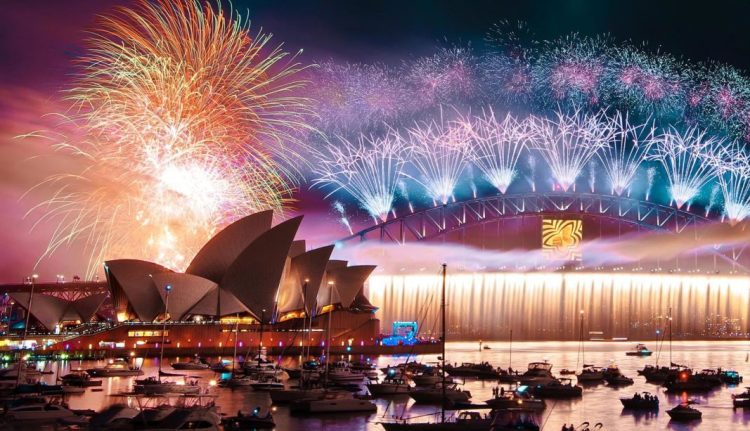 Celebración de año nuevo en el mundo: Sidney – Australia