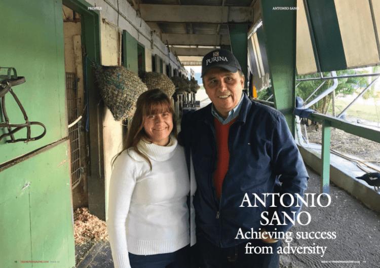 Antonio Sano achieved 700 victories