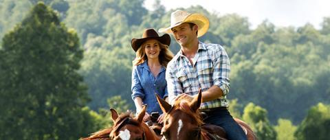 The Longest Ride Britt Robertson and Scott Eastwood