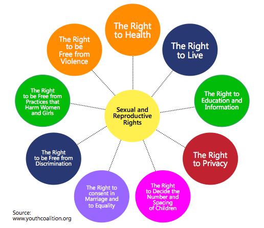 Women's sexual and reproductive rights