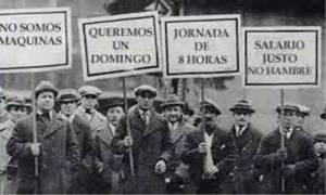 protestas de trabajadores