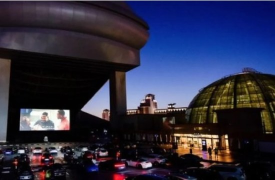 Drive-in cinema Dubai in coronavirus times