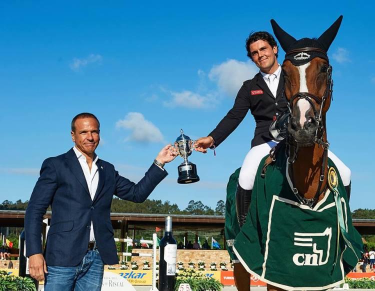 Gustavo Mirabal's G&C Rider Sergio Alvarez Moya & Arrayan won Caixa-Bank Prize