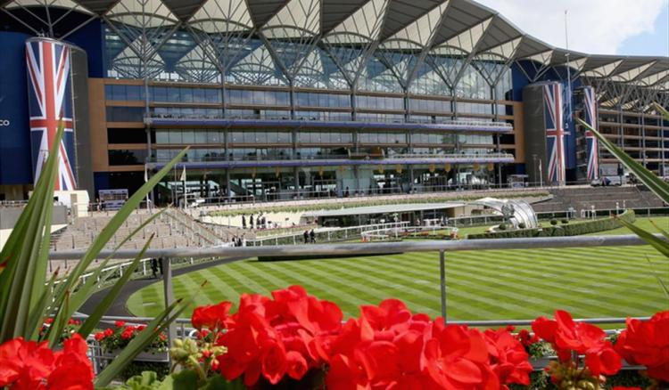 Ascot Racecourse without public