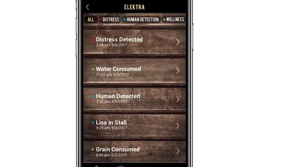 App that uses artificial intelligence to monitor horses