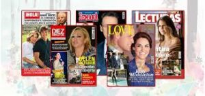 Carolina Chapellin Spanish Magazines