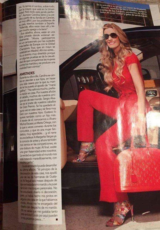 Carolina Chapellin Socialité - Love Magazine