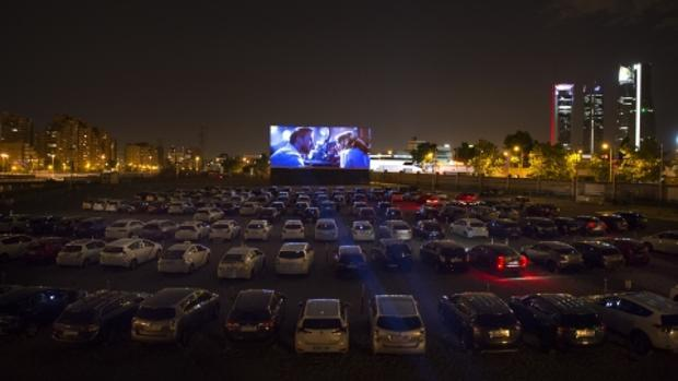 The drive-in is returned due to coronavirus
