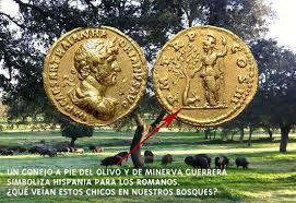 Conejos en las monedas antiguas de España