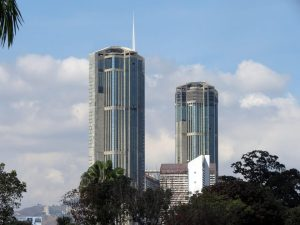 "The Towers of ""Parque Central"""