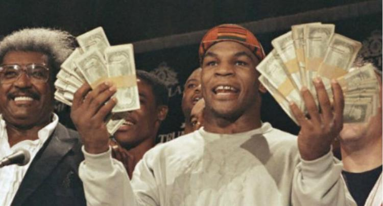 Mike Tyson - Whom finance for athletes were able to help
