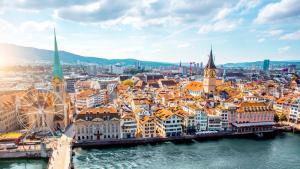 Zurich - La capital económica de Suiza