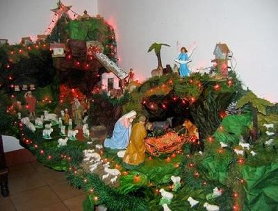 Christmas in Venezuelan Andes - An Andean Pesebre
