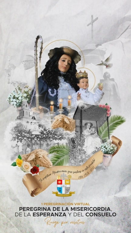 Flyer of the Pilgrimage of the Divine Shepherd 2021