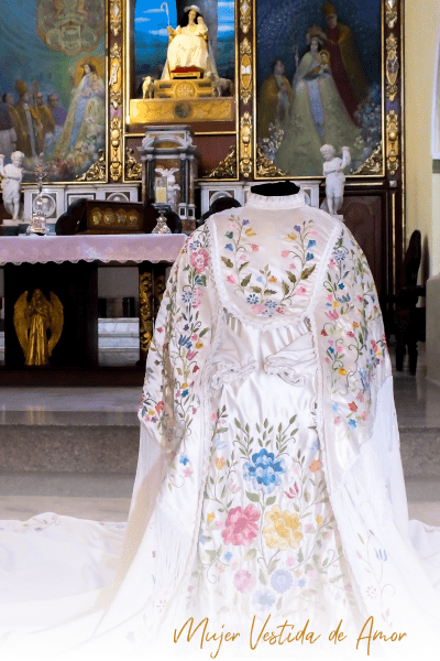 Dress for the Divine Shepherd in 2021 - Chosen by parishioners