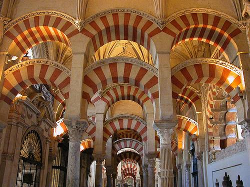 The Mosque of Cordoba - A sample of Arab influence in Spain