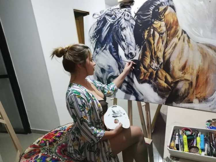 Lincy Macias Painting