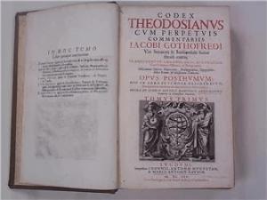 Theodosius Code Book