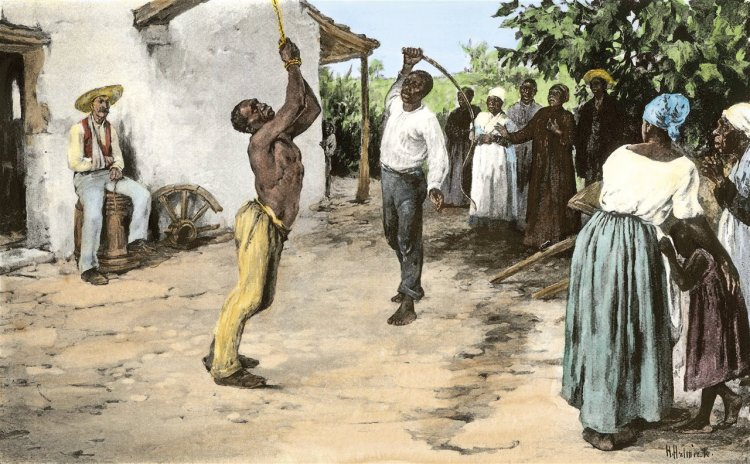 Physical punishment of slaves in the United States of America