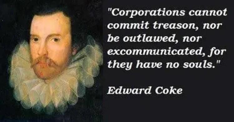Edward Coke Famous Quote