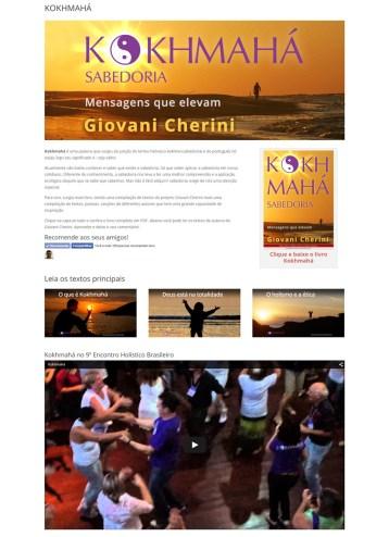 Páginas diferenciadas para conteúdos especiais, como este ebook, com integração com redes sociais.